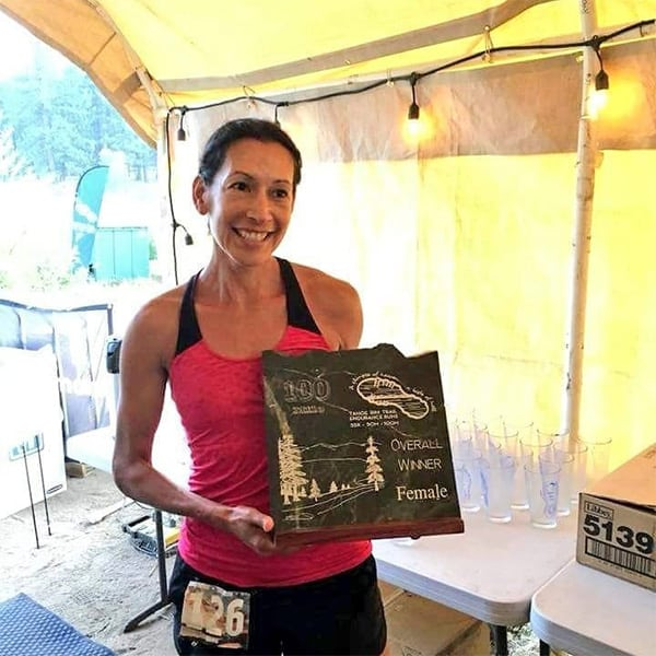 Tahoe Rim 100, Three-Time 100 Mile Women's National Trail Champion